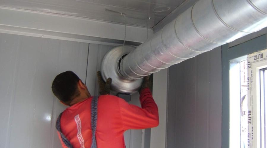 Монтаж вытяжной вентиляции в Костроме и Костромской области