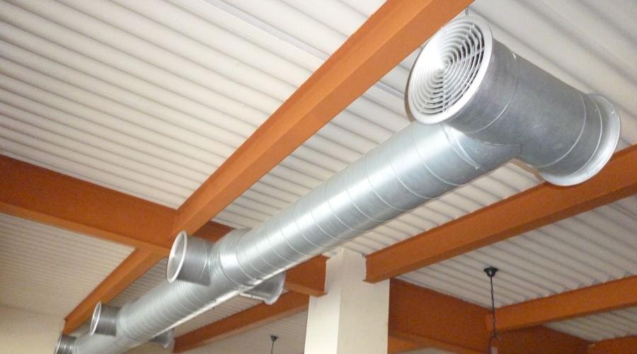 Монтаж приточной системы вентиляции
