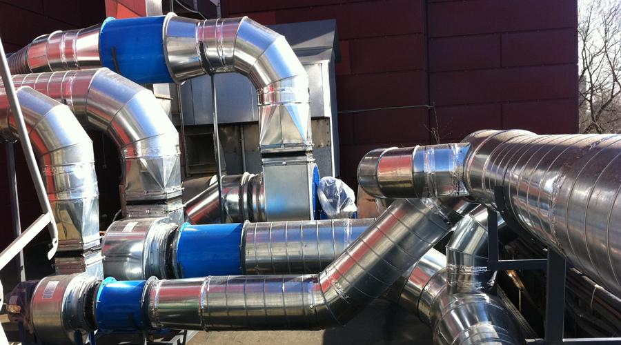 Монтаж систем вентиляции в Костроме