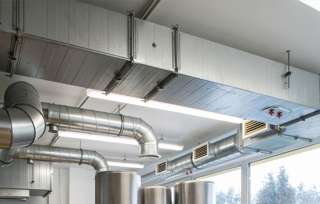 Монтаж приточно вытяжной системой вентиляции кондиционирование